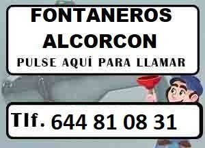 Fontaneros Alcorcon Madrid Urgentes