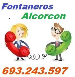 Telefono de la empresa fontaneros Alcorcon